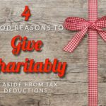 4 Reasons To Give, Aside from Tax Deductions